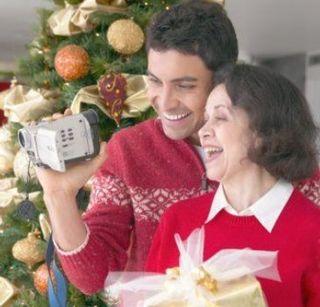 Christmas-camcorder