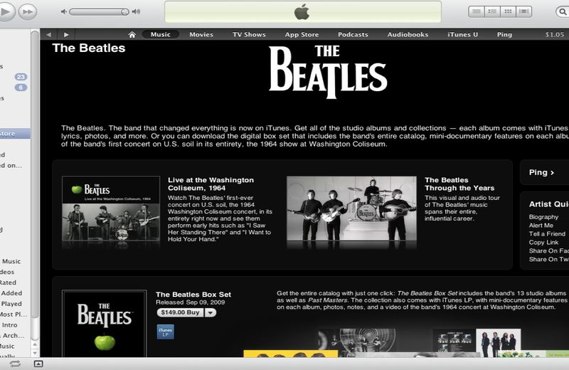 Itunes Beatles