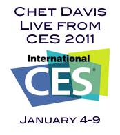 CES 2011 Button