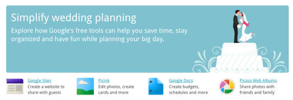 Google Pulls Togerther Free Online Tools For Wedding Planning