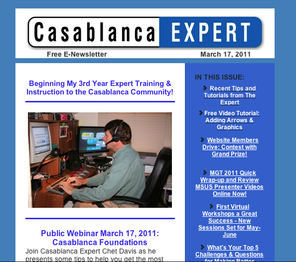 CBX March Newsletter