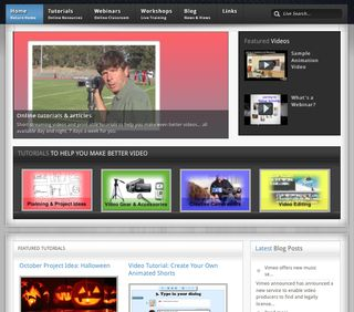 YVX Website Front Page